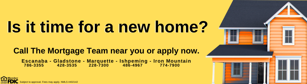 Photo of a home advertising home loan online applications with link to application page